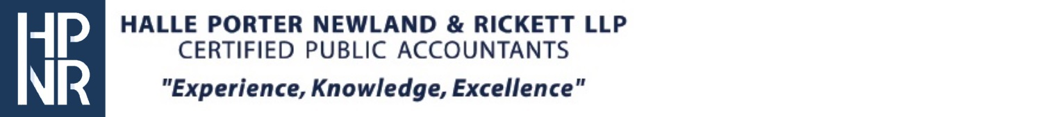 Halle Porter Newland & Rickett LLP Certified Public Accountants
